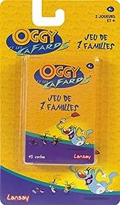 Lansay-Juegos de 7familias Oggy y Las cucarachas, 11205