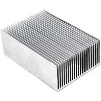"""Aletas del Radiador de Aluminio Amplificador de Transistor para el Dispositivo Semiconductor de alta Potencia LED con 23pcs Fins 3.93 """"(L) x 2.71"""" (W) x 1.41 """"(H) / 100 mm (L) x 69 mm (W) x 36 mm 1pc (H)"""