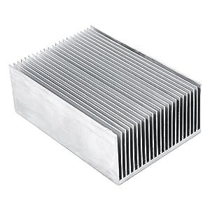Walfront 1pcs Aletas del Radiador de Aluminio Amplificador de Transistor para el Dispositivo Semiconductor de Alta…