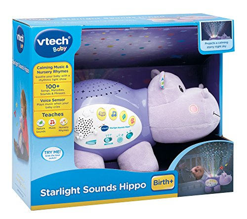 VTech Baby Starlight Sounds Hippo - Multi-Coloured