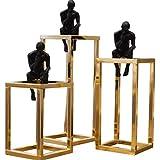 ZLR Moderne Einfache Nachdenkliche Menschen Skulptur Kreative Ornamente Nach Hause Modell Wohnzimmer TV Schrank Studie Einrichtungs Handwerk Ornamente