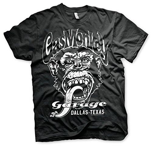 c2bc0ed0 Officially Licensed Merchandise Gas Monkey Garage - Dallas Texas T-Shirt  (Black),