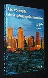 Les concepts de la géographie humaine