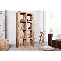 Comparador de precios Casa-Padrino Solid Wood Shelving Cabinet - Bookcase Wooden Shelf Solid - precios baratos