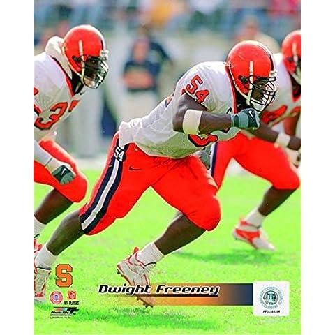 Posterazzi – Dwight Freeney Syracuse University Orangemen 2001 Action Photo Print (20,32 x 25,40