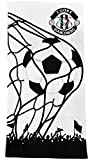Telo Mare / Asciugamano cotone Cuore Bianconero