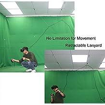 MIDWEC Nueva Versión de Sistema de Control de Cables Retráctil para Auriculares de Realidad Virtual Oculus Rift – No te Preocupes Más por Los Cables, Muévete con libertad al jugar en VR