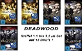 Deadwood Die kompletten Staffeln/Seasons 1-3 (12 DVDs)