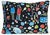 Retro Design Kissenhülle Ikea Stoff, im skandinavischen Stil, Blau, Grün, People Kissenüberwurf Case