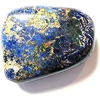 Trommelstein Azurit (stabilisiert) flach 2-2,5 cm preisvergleich bei billige-tabletten.eu