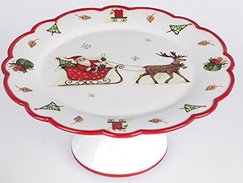 Formano Plateau décoratif pour Table de Noël 22 cm