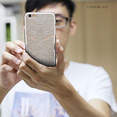 CASEiLIKE Art Mandala 2093 Housse Étui UltraSlim Bumper et Back for Apple iPhone 6 / 6S Plus (5.5 inch) +Protecteur d'écran+Stylets rétractables (couleur aléatoire) 2303