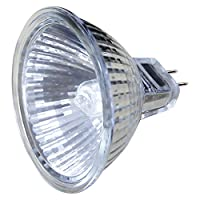 10 Pack MR16 50w Halogen Bulbs GU5.3 Lamp 12v Halogen Warm White with Aluminium Reflector from Long Life Lamp Company