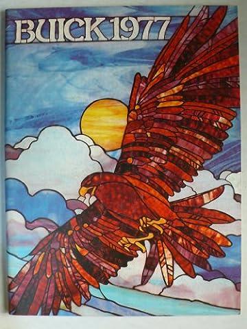 Prospekt / brochure - 1977 Buick (Book) mit Skyhawk, Skylark, Century, Riviera, Le Sabre, Estate Wagons, Electra - Original - sehr schön