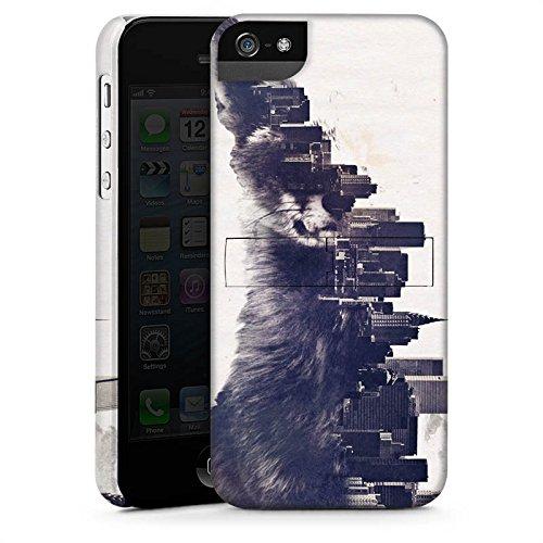 Apple iPhone X Silikon Hülle Case Schutzhülle Fuchs Urban City Premium Case StandUp