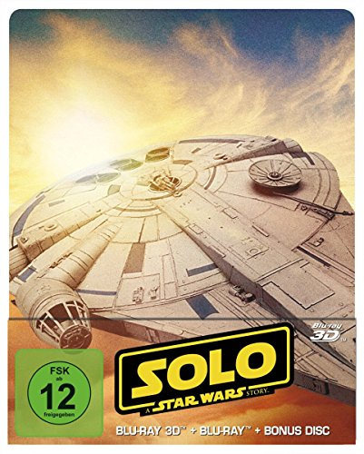 (Solo: A Star Wars Story 3D Steelbook [3D Blu-ray] [Limited Edition])