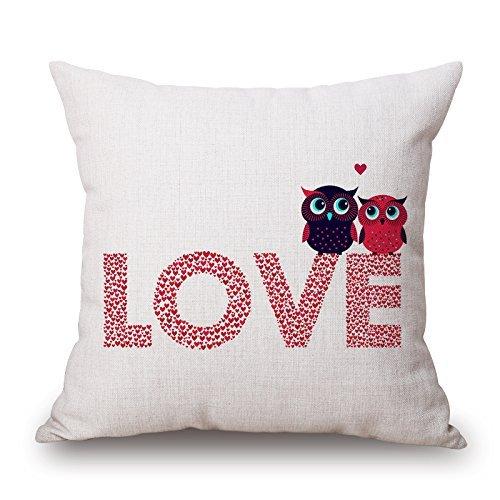Katze Überwurf Kissen 50,8x 50,8cm/50von 50cm für Büro, Sitz, Valentine, Gril Freund, Bar, Festival mit doppelter Seiten