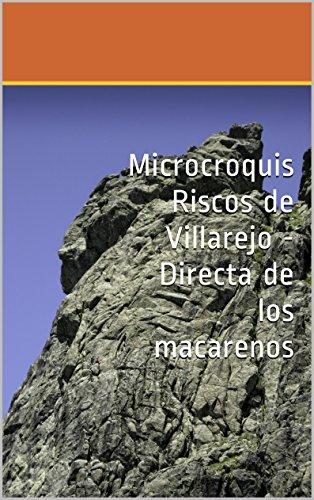 Microcroquis Riscos de Villarejo - Directa de los macarenos