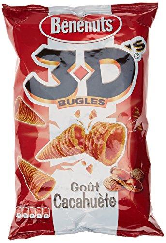 Benenuts 3D Cacahuète 85 g - Lot de 5