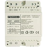 Fermax 4800 - Alimentador 12vac/1,5a din4