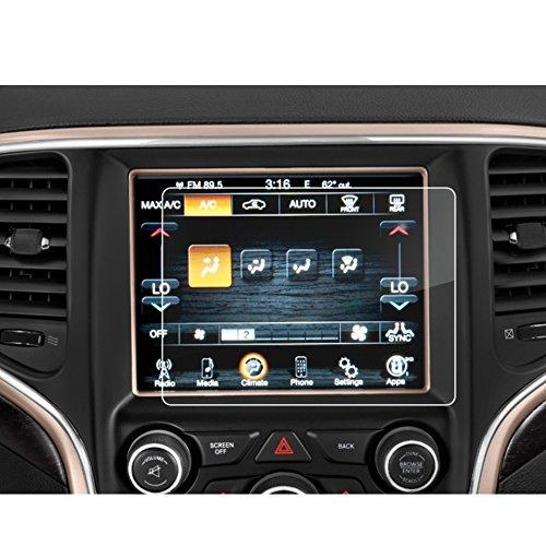LFOTPP Grand Cherokee SRT 8,4 Zoll Navigation Schutzfolie - 9H Kratzfest Anti-Fingerprint Folie Navigationssystem Displayschutzfolie GPS Navi Schutzfolie -