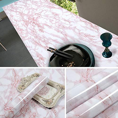 lsaiyy Imitation Marmor Muster Aufkleber wasserdicht Selbstklebende Tapete Küche Öl Beweis Tapete-60CMX5M (Schildkröten Tag Valentines)