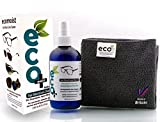 Ecomoist Eyeglass Cleaner 250ml, Lens Cleaner and Optical Cleaner - Fine Microfiber Towel - All Natural - MADE IN UK, GREEN PRODUCT, NO AMMONIA AND ALCOHOL, Cleans all dusts and stains, Use for Glasses, Sun Glasses, Reading Glasses, Camera Lens and Spectacles without harming the coating of the Glass/Lens