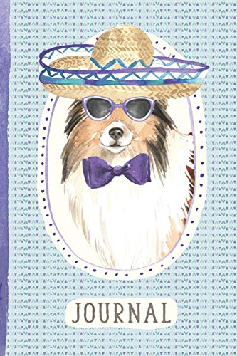 Journal: For People Who Love Shetland Sheepdogs [6x9 Lined] -