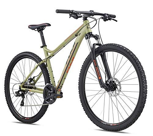 Fuji MTB Hardtail 29 Zoll Nevada 29 1.9 2019 Mountainbike Fahrrad Mountain Bike (Satin Khaki Green, 53 cm) -