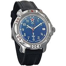 Vostok KOMANDIRSKIE 2414 811289 U-Boot submarino Militar ruso reloj mecánico