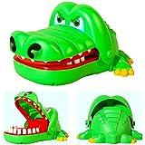 DDG EDMMS Jouets Amusements De Crocodiles A Mordre Au Doigt Plastique Tirer Les Dents Vert Jouet Pour Enfants