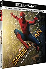 SPIDER-MAN - HOMECOMING - UHD + BD 3D + BD (UV) [4K Ultra HD + Blu-ray 3D + Blu-ray + Digital UltraViolet]