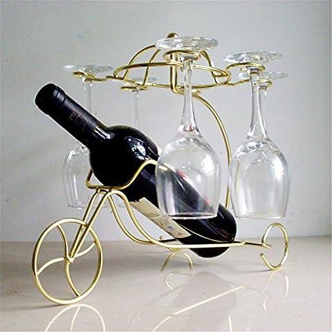 vigvog Pariser Stil bronze-colored Dreirad Wein Glas