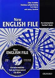 New English File : Pre-intermediate Teacher's Book (1Cédérom)