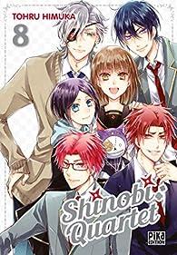 Shinobi quartet, tome 8 par Tohru Himuka