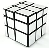 Lychee Mirror Blocks Shiny Black Frame Magic Speed Cube Puzzle Brain Teaser