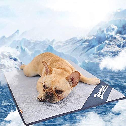 Warmiehomy Kühlmatte Rattan für Hunde Katze Haustiere kühlkissen Hundematten für innen-& drauß...