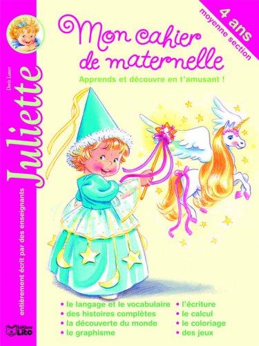 Mon Cahier de Maternelle Moyenne Section