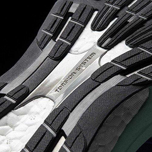 adidas Adizero Tempo 8, Chaussures de Running Compétition Homme Bleu (Blue/Night Navy/Easy Green)