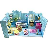 3D gruesa espuma Cartón Puzzle bricolaje Kit de artesanía/Modelo de edificio/Regalo/Kit de modelo Para niños # 46 - Peluches y Puzzles precios baratos
