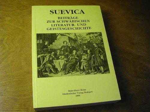 In dem milden und glücklichen Schwaben und in der Neuen Welt: Beiträge zur Goethezeit : Festschrift für Hartmut Fröschle (Stuttgarter Arbeiten zur Germanistik)