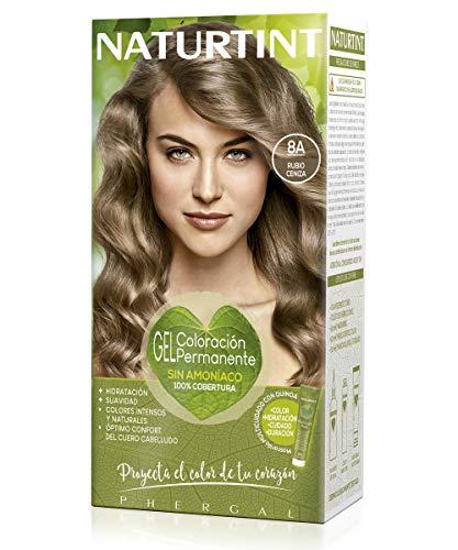 Naturtint. Tinte Sin Amoniaco. Ingredientes Vegetales. 8A Rubio Ceniza. 170ml