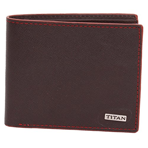 Titan Original Brown Men's Bifold Wallet (TW181LM1BR)  available at amazon for Rs.1149