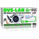 DVS Germany - Kabellose Videoüberwachung Set 4X IP 2Megapixel Kameras 1000GB Speicher und Software - DVPLC2004D
