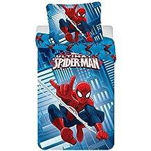 Jerry Fabrics jf0210Juego de sábanas Spiderman 2016Micro, microfibra, 140x 200+ 70x 90cm