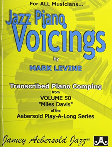 Jazz Piano Voicings Aebersold Vol.50 By Levine Mark