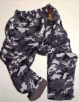 Combat Cargo Thermal Fleece Lined Army Bottoms/ Pants