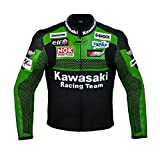 Kawasaki Racing Team Motorrad Lederjacke (XL (EU56))