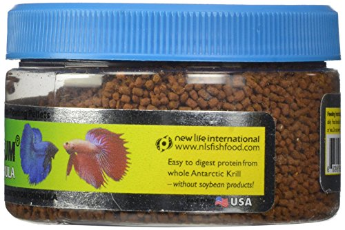 New Life Spectrum Betta Formula 1mm Semi-Float Pet Food, 50gm 4