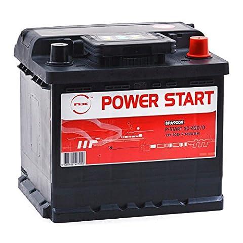 Batterie Voiture Diesel - NX - Batterie voiture P-Start 50-420/0 12V